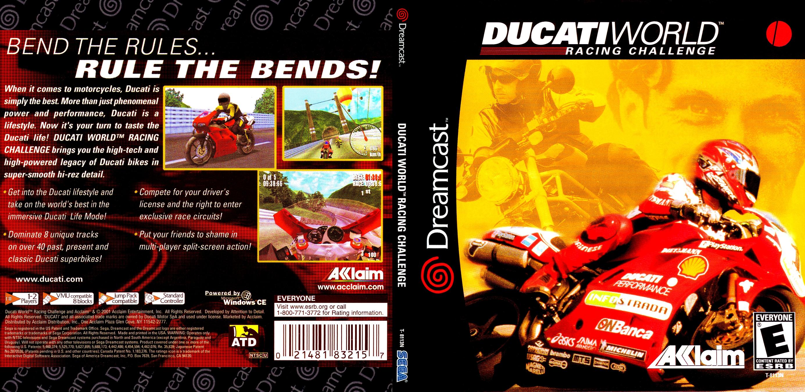 Ducati World Racing Challenge Iso